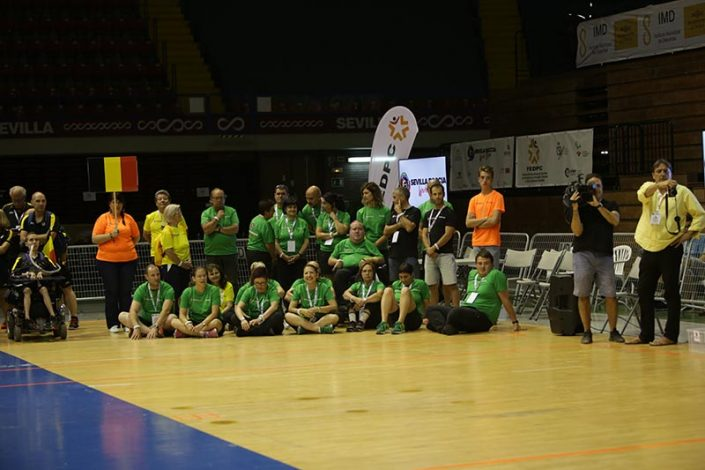 Ceremonia de Apertura - Equipo Belgica