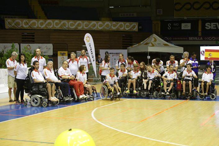 Ceremonia de Apertura - Equipo España