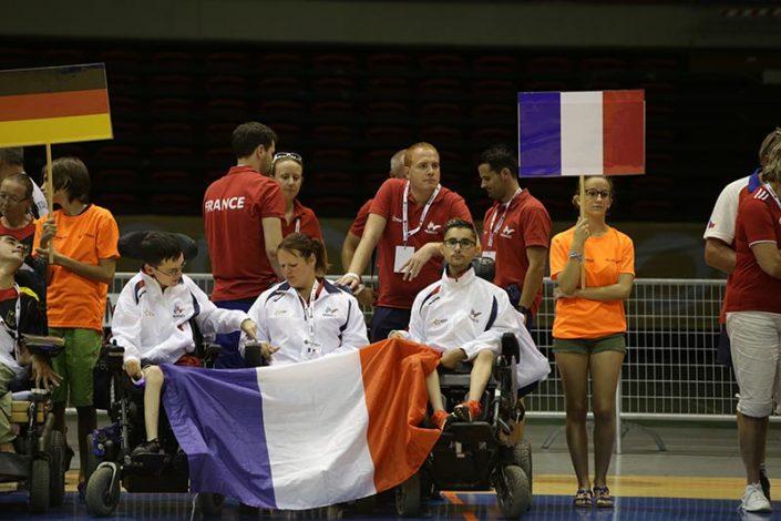 Ceremonia de Apertura - Equipo Francia