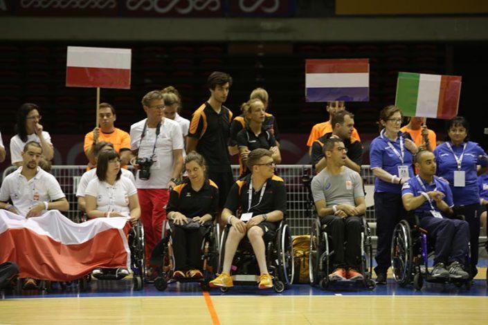 Ceremonia de Apertura - Equipo Holanda