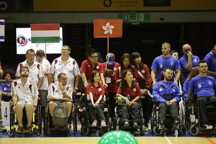 Ceremonia de Apertura - Equipo Hong Kong